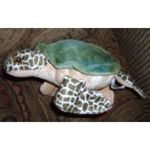 8 Inch Long Sea Turtle Plush Toys & Games