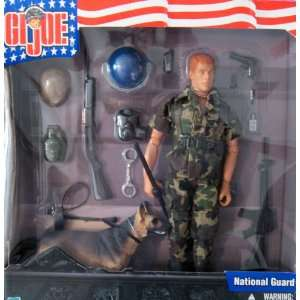 GI Joe Action Figure National Guard with Dog
