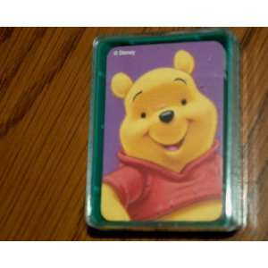 Disney Winnie the Pooh & Friends Poker Playing Cards Toys & Games