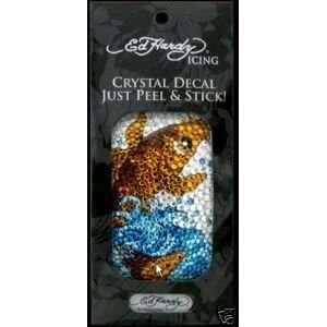 Hardy Universal Crystal Icing Decal Phone IPOD Koi Fish Electronics