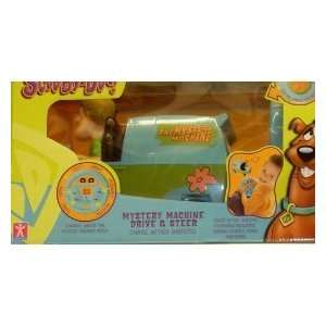 Scooby Doo Mystery Machine Drive and Steer Van Toy Toys