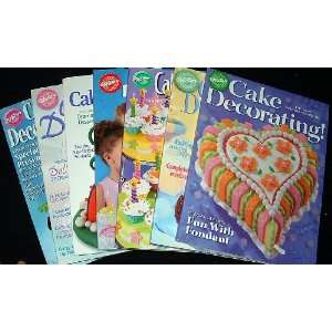 Wilton Cake Decorating Yearbooks 2001   2007 (7 issues