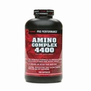 GNC Pro Performance Amino Complex 4400, Capsules, 240 ea