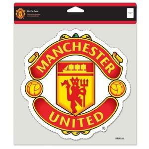 Manchester United Red 8x8 Full Color Die Cut Decal
