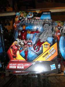 2012 Marvel Avengers Movie Heavy Artillery Iron Man #3 Action Figure
