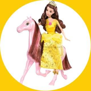 Disney Princess Belle Doll Royal Castle Horse Girls Toy