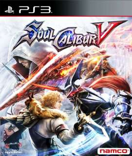 SoulCalibur (Soul Calibur) V 5 2012 PS3 Genuine Game Brand New