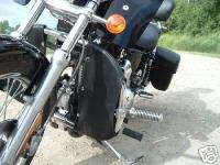 NEW HARLEY SPORTSTER ENGINE GUARD SOFT LOWERS 2004 UP |