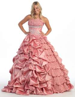 Military Ball Evening Formal Gown Quinceanera Dress New Sweet 16