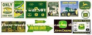 Vintage John Deere Signs #g 0   FREE S&H