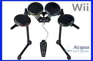 ION Drum Rocker Core Drum Set Rock Band 1 2 3 Wii NIB