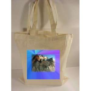 Wild Horses # 3 Tote Bag. Personalize with Your Own Photo