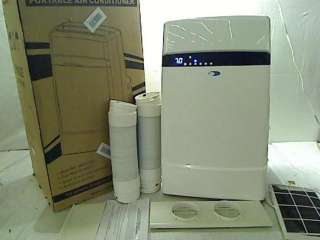 Whynter 12,000 BTU Dual Hose Portable Air Conditioner, Frost White