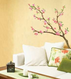 Cherry Blossom Tree Wall Stickers Home decals Mural Art