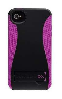 Case mate Pop 2 Case with Kickstand for Apple iPhone 4 / 4S (Black