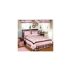 Toile 3P Full / Queen Comforter Set   Girls Bedding: Home & Kitchen