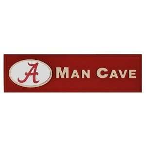 Alabama Crimson Tide UA NCAA Man Cave Sign Sports