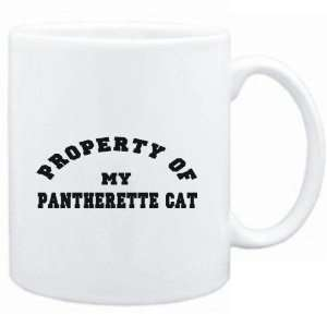 Mug White  PROPERTY OF MY Pantherette  Cats Sports