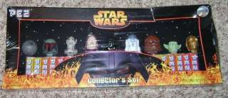 Star Wars Pez Episode 3 Revenge of the Sith Exclusive Set of 9
