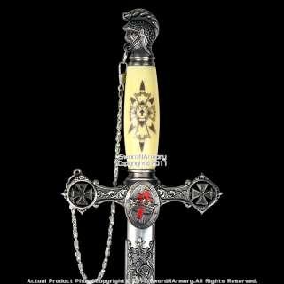 Masonic Knights Templar Ceremonial Sword Cross Handle