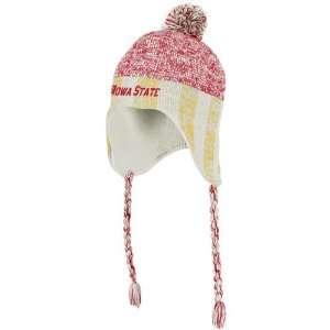 Iowa State Cyclones adidas Originals Heathered Tassel Knit
