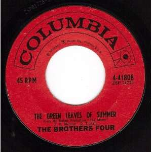 The Green Leaves Of Summer/Beautiful Brown Eyes (VG 45 rpm