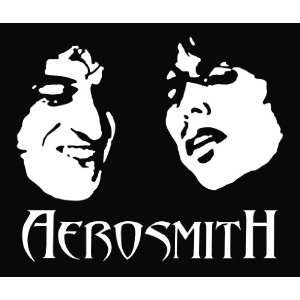 Aerosmith Die Cut Vinyl Decal Sticker 6 White Everything