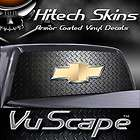 Vuscape Truck Rear Window Graphic  Chevy Diamond Plate