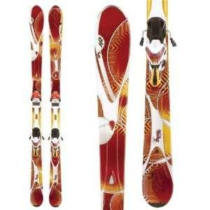 K2 SuperBurnin Skis + Marker ERS 11.0 TC Bindings   Women