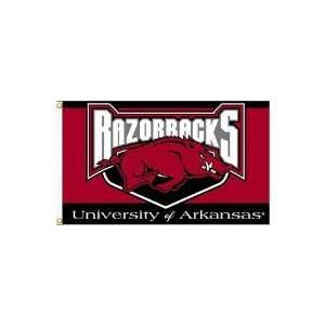 Arkansas Razorbacks NCAA 3 x 5 Flag By BSI Products