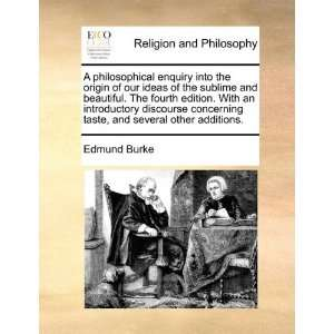 philosophical enquiry into the origin of our ideas of the sublime