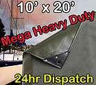 MEGA HEAVY DUTY PVC VINYL TARP 10x20 SUPER HEAVY DUTY TARP SALE (#11