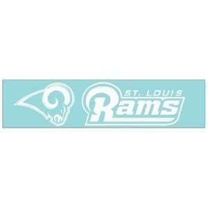 NFL St Louis Rams 4x16 Die Cut Decal