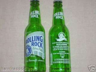 Rolling Rock Capped Beer Bottle Latrobe Pa Last Of Era
