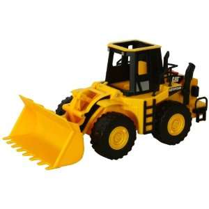 Caterpillar Construction Job Site Machines Wheel Loader Toys & Games