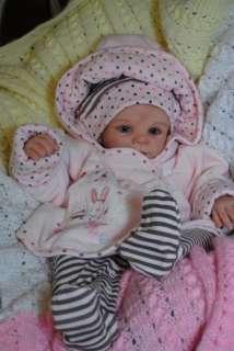 Lovely Girl KARINA Reborn Baby, Doll Kit °Lars° by Brit Klinger Ltd