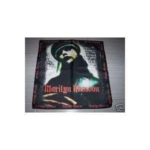MARILYN MANSON Flag Bandana, Headband, Table Cloth NEW