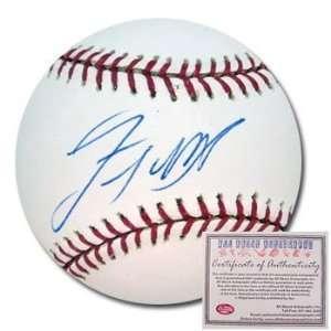 Lastings Milledge Autographed/Hand Signed Rawlings MLB Baseball
