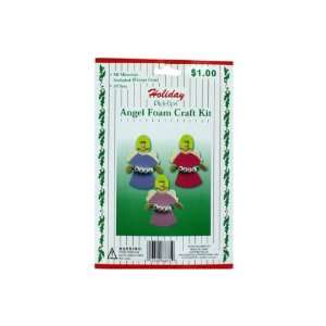 Holiday Foam Craft Kit Case Pack 60   697464 Patio, Lawn