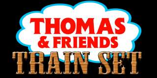 Thomas & Friends Wooden Railway   Deluxe Tidmouth Train Set   Table