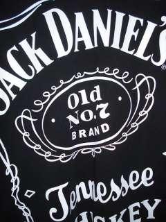 SIZE 2XL AUTHENTIC JACK DANIELS SCREEN PRINTED T  SHIRT XXL