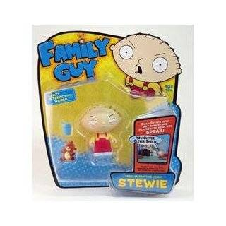Family Guy Stewie Griffin 6in Scale Action Figure: Toys