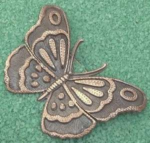 Unique Early Joy Mex Sterling Butterfly Brooch Pin