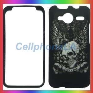 HTC Evo Shift 4G Lucky Skull Hard Case Phone Cover