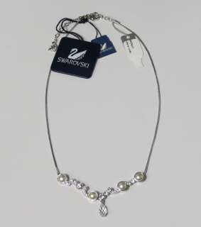 NEW SWAROVSKI BRAND NAME DESIGNER COLLECTIBLE NECKLACE/CHAIN CRYSTALS