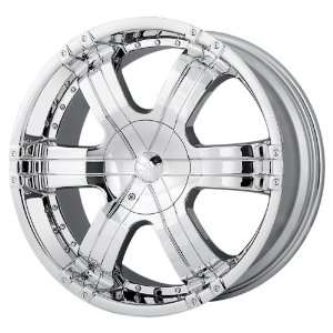 Ion Alloy 199 Chrome Wheel (20x9/6x139.7mm) Automotive