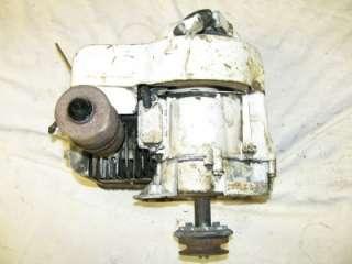 Vintage 5 HP Briggs & Stratton Tiller Vertical Shaft Small Gas Engine