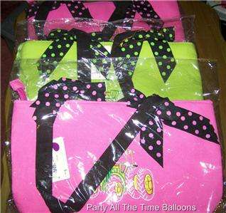 WHOLESALE LOT OF 3 tractor JOHN DEERE totes PINK green