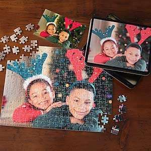 Personalized Photo Puzzle Christmas Gift   Horizontal