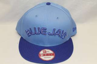 TORONTO BLUE JAYS NEW ERA NCAA SNAPBACK HAT CAP REVERSE BABY BLUE